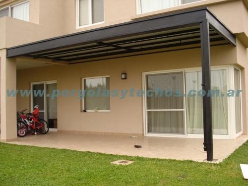 Techado de patios techado de galerias for Modelos de techos para galerias