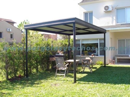 Cerramiento de patios pergolas techos para patios share - Cerramiento de patios ...