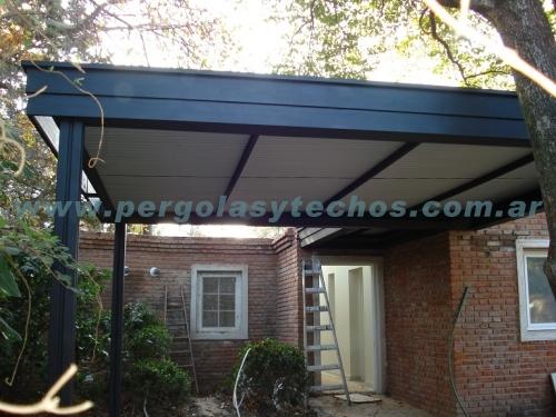 Techos para autos techos para cocheras for Techos metalicos para cocheras