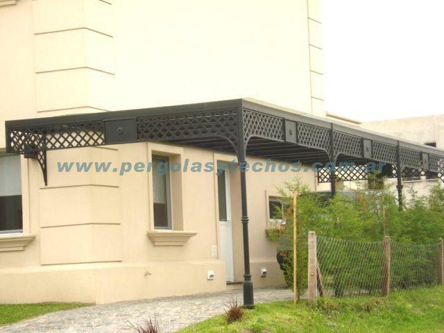 ph2 venta techos de policarbonato y pergolas de metal - Pergolas De Hierro