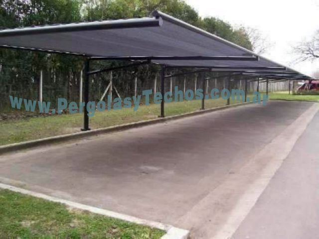 Techos para autos techos para cocheras - Toldos para cocheras ...