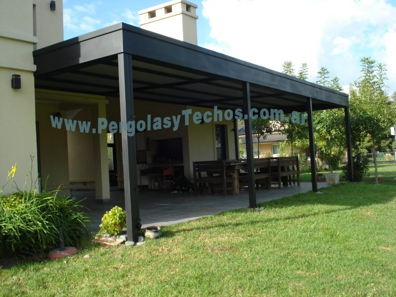 Techado de patios techado de galerias for Tipos de toldos para patios