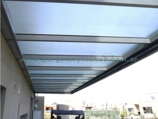 Techos para terrazas y decks techos y rejas precio 100 000 condicion car interior design - Techos de vidrio para terrazas ...