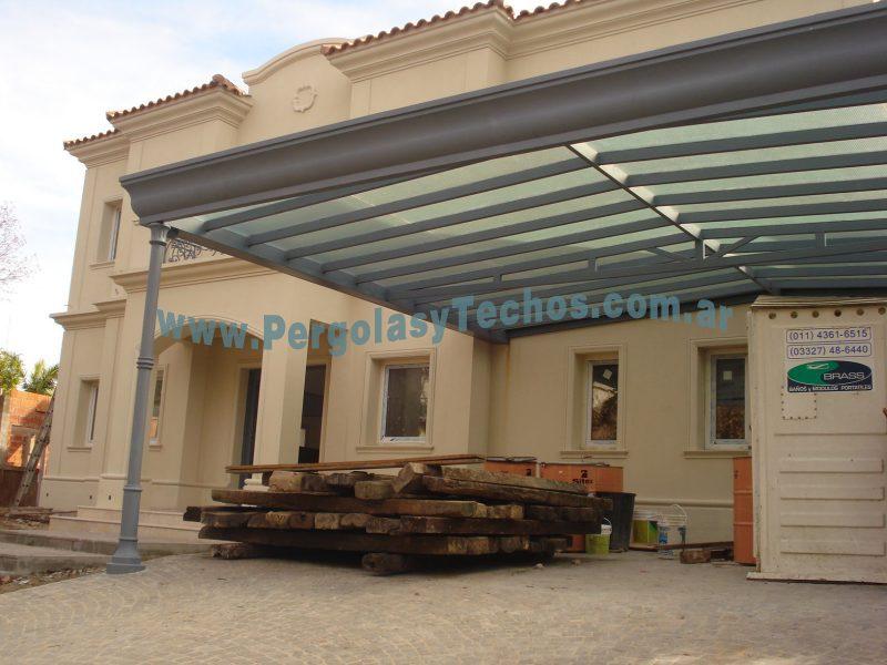 Techos de vidrio cerramientos de vidrio for Plafones de techo y pared